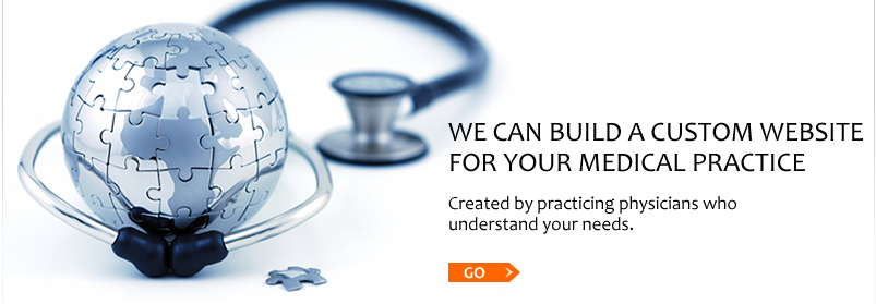 We can build a custom website for your medical practice